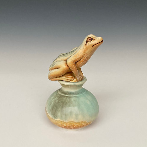 Tree Frog Perfume Bottle