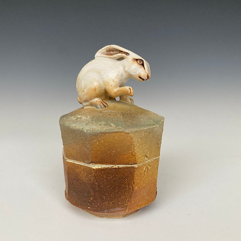 White Rabbit Faceted Box