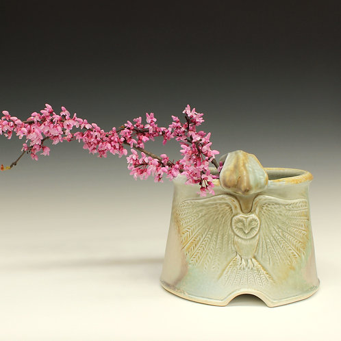 Owl Flower Basket