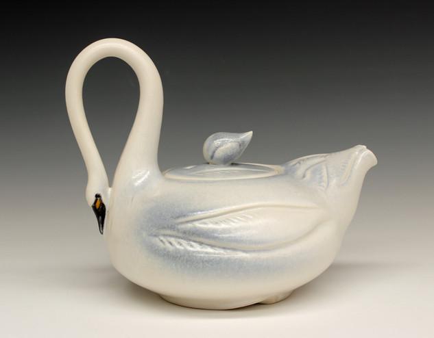 Tundra Swan Teapot - 2017