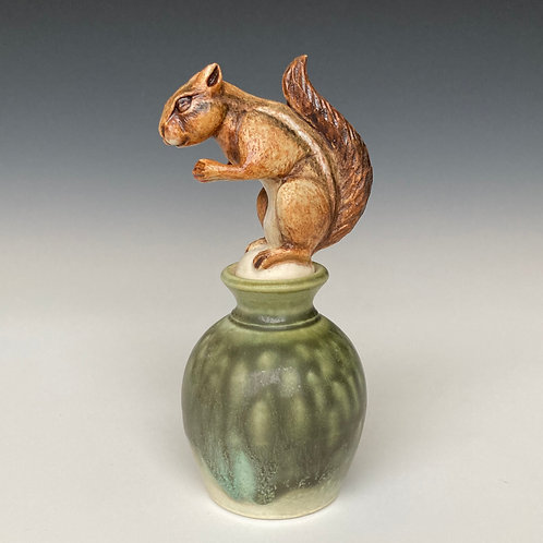Chipmunk Perfume Bottle