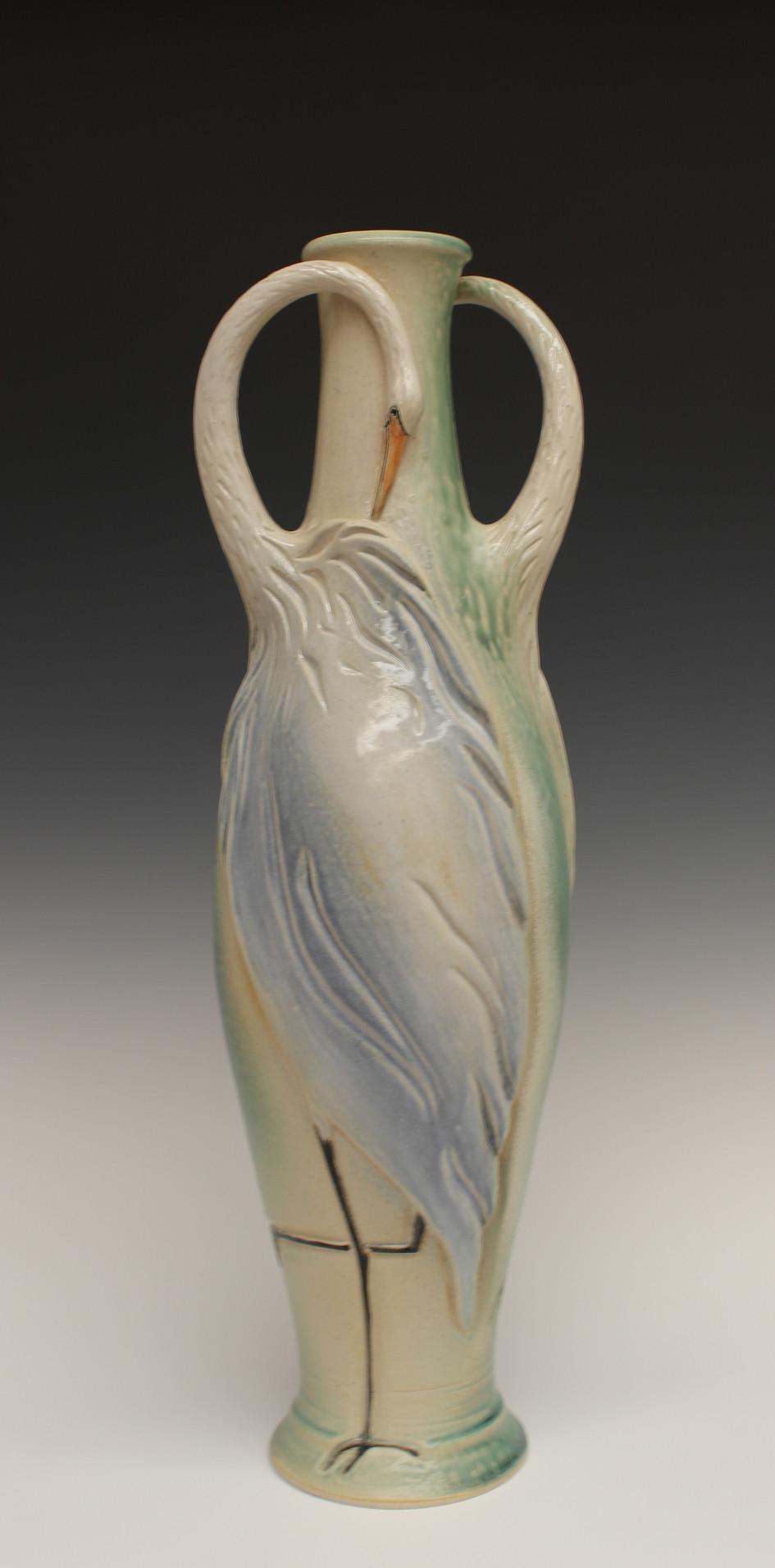 Two Herons Vase - 2017