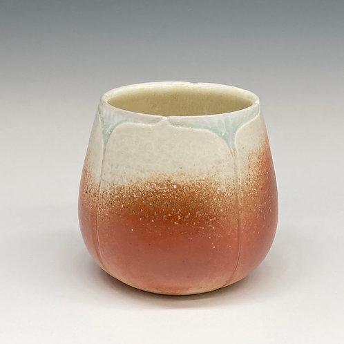 Red Lotus Cup -Wood Fired