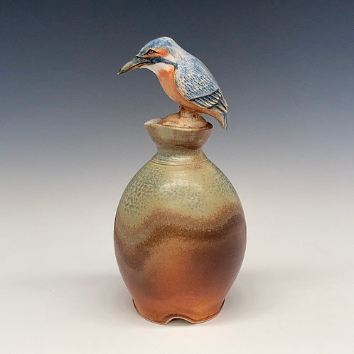 Kingfisher Sake Bottle