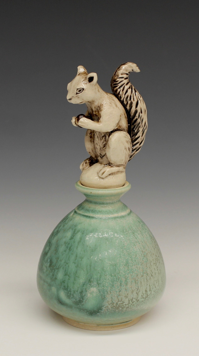 Squirrel Perfume Bottle
