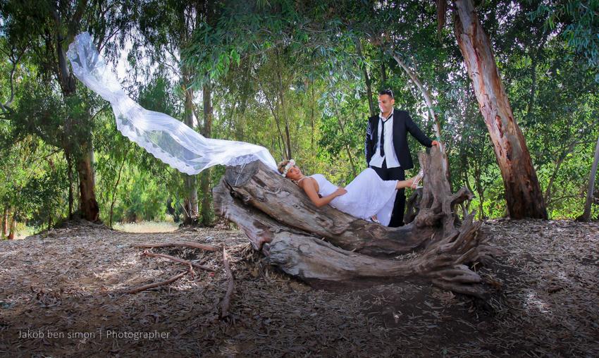צילומים במקומות יפים בחתונה