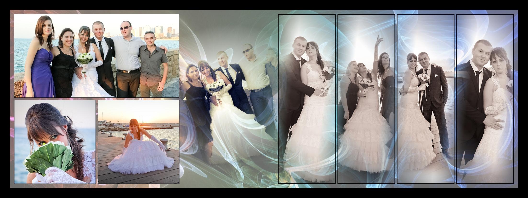 צילום חתונות ברחפן