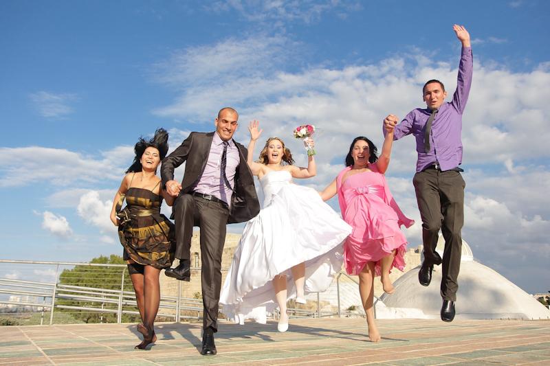 צילומי חוץ מהנים בחתונות