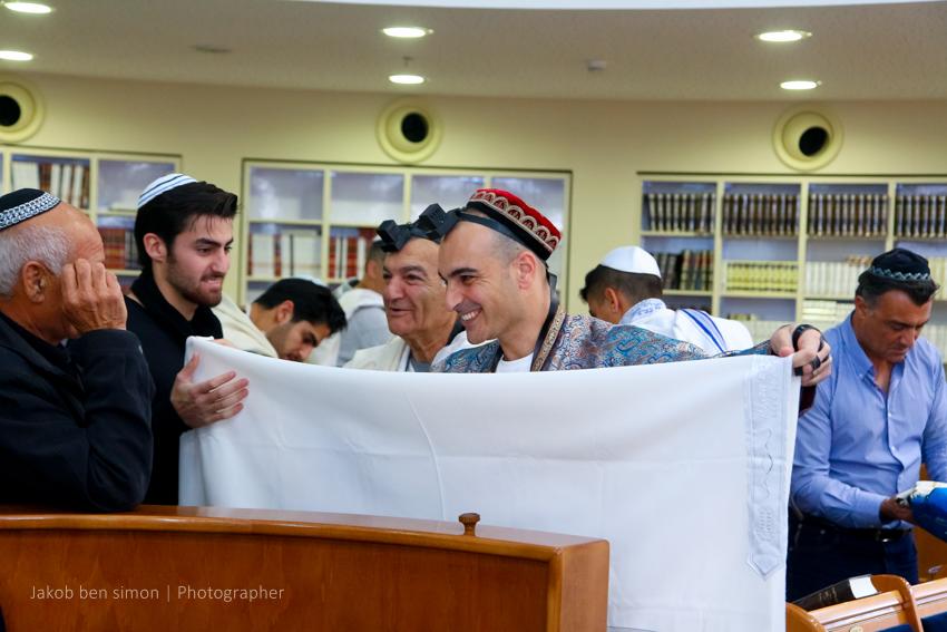 טקס העליה לתורה בבית הכנסת