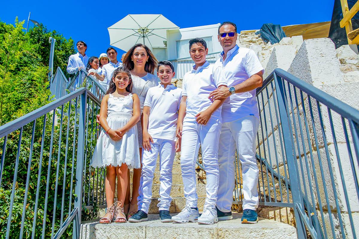 צילומי משפחות באירועי הכותל
