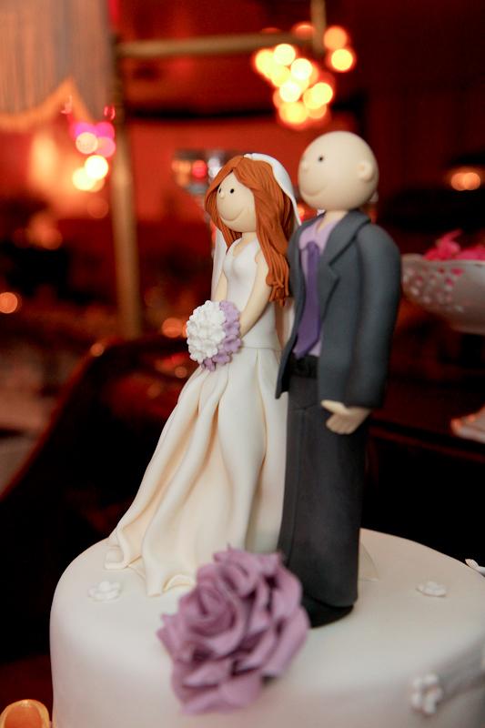עוגה חתן כלה בחתונה