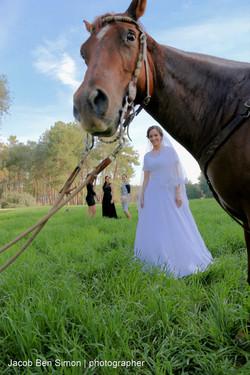 צלם חתונות ברחובות