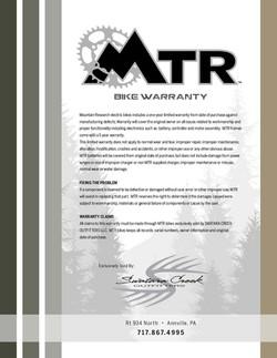 MTN RESEARCH WARRANTY