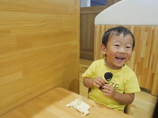 小麦粉粘土✨ オレンジ組1歳児
