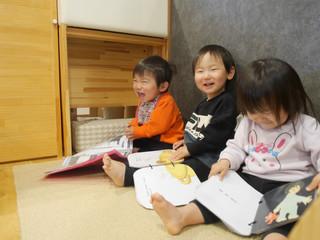 絵本大好き📖 オレンジ組1歳児☺️✨