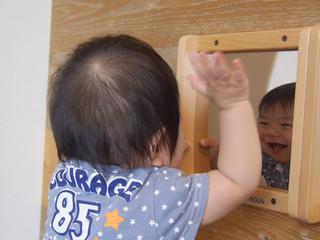 鏡をみる オリーブ組