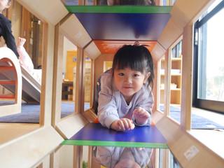 大型積木😊✨ オレンジ組2歳児