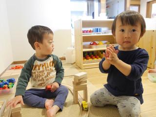 室内遊び😃✨ オレンジ組1歳児
