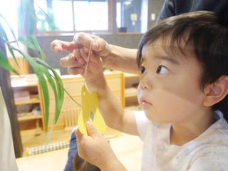 七夕☺️🎋 オレンジ組2歳児