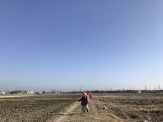 『田んぼの探検隊😁✨』