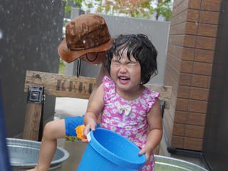 プール遊び☀️ オレンジ組2歳児