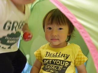 元気いっぱい☺️✨ オレンジ組1歳児
