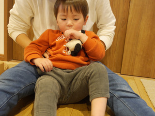 新しいお友だち☺️✨ オレンジ組2歳児