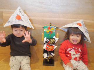 こどもの日🎏✨✨ オレンジ組2歳児