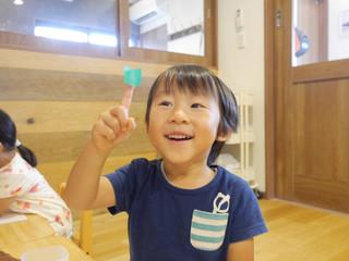 のり😄 オレンジ組2歳児