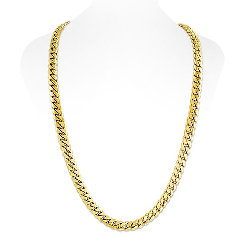 10K CUBAN LINK CHAIN (10MM)