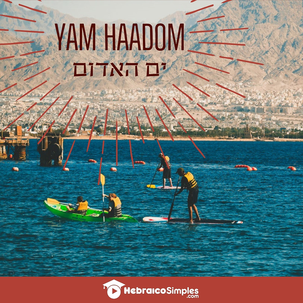 mar vermelho yam haadom adom moshe pessach abriu o mar eilat mergulho em israel
