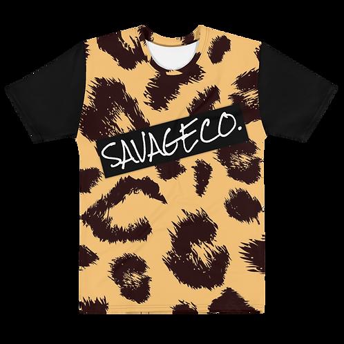 Leapord Print Animal T-shirt
