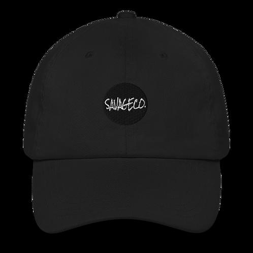 Savageco Black OG Dad hat