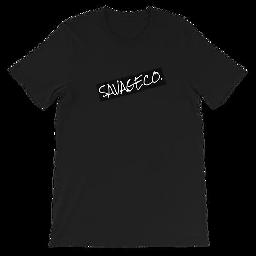 Savageco X Bella Canvas Serious Logo T-Shirt