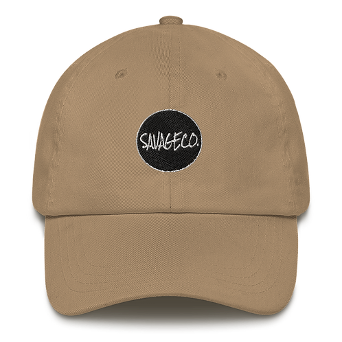 Savageco Khaki OG Dad hat