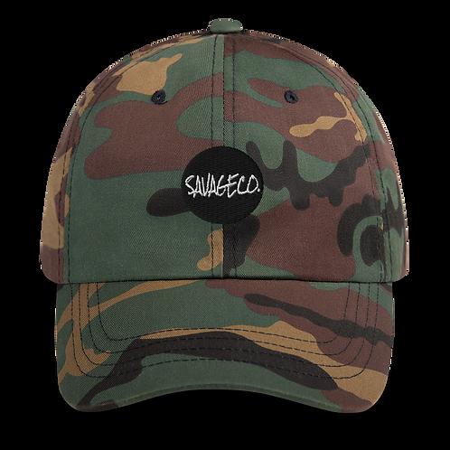 Savageco Camo OG Dad hat