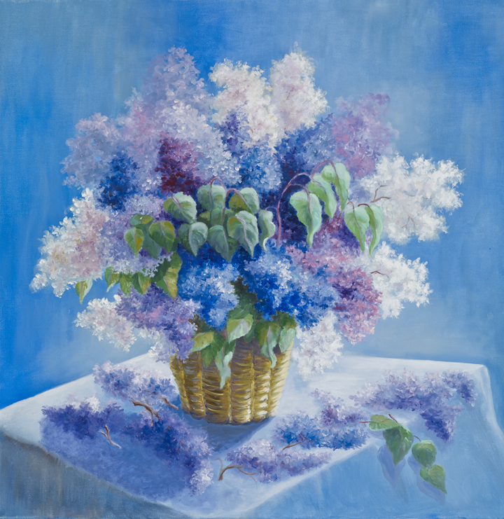 Lilac on the table