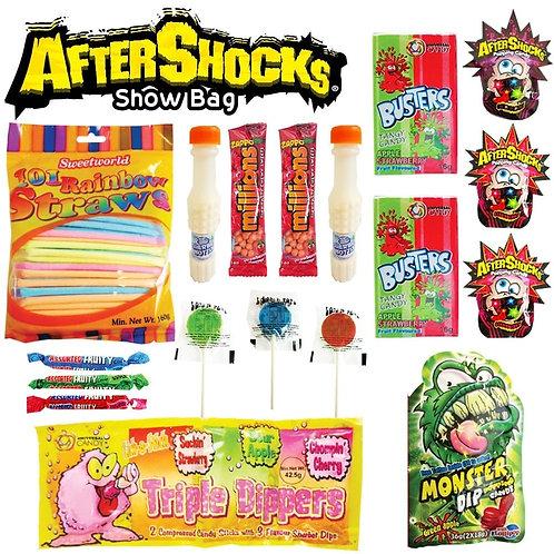 Aftershocks Showbag