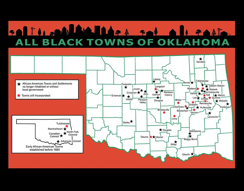 Black towns of Oklahoma