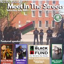 VA meet in the Street