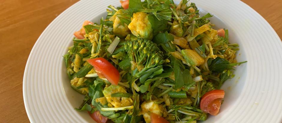 パパ料理:抗酸化サラダレシピ