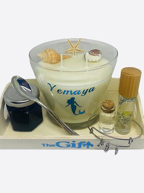 The Yemaya Candle & Sacred Altar Set