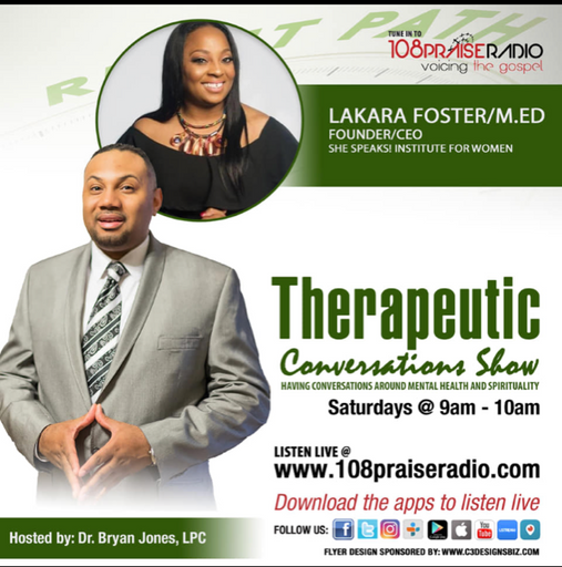 Therapeutic Conversations Show with Dr. Bryan Jones