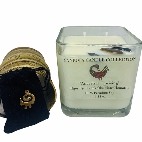 ANCESTRAL UPRISING CANDLE- Triple Protection