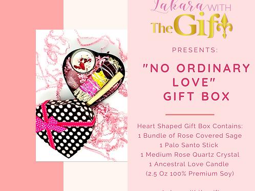 """No Ordinary Love"" Gift Box"