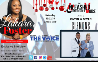 Unleashed Voice Radio Show with Davin & Gwen