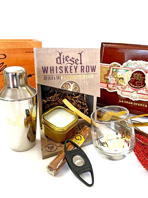 Vintage Brown Sugar Vibe & Bourbon Box