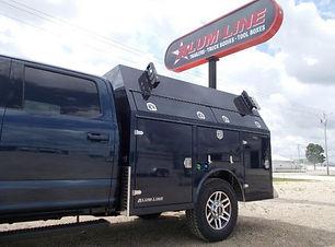 Alum-Line service body