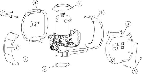 UM2_Prodigy-Hydraulic-Unit-Cover-Assembl
