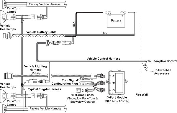 UM_wide-out vehicle-side wiring diagram